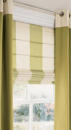 Roman with Grommet Panels dining rooms, curtains, rec rooms, color, window treatments, roman shades, window coverings, design styles, roman blinds