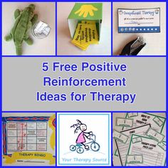 As the school year progresses, it can be hard to motivate children to participate in therapy sessions or to complete in class or home exercise suggestions.  Here are 5 ways to use positive reinforcement during therapy sessions.