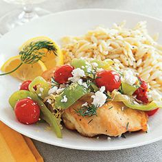 Greek Chicken Sauté