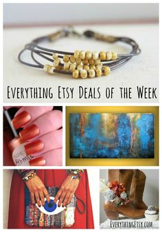 It's time for some deals! Shopping on Etsy is always fun, but throw in some specials like these and I'm HAPPY! Go ahead and treat yourself or get an early start on Christmas shopping. You'll find tons of handmade goodness here along with lots of supplies to help you create your next project! Click on…   [read more]