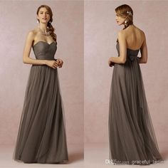 Mocha Brown Bridesmaid Dresses 68