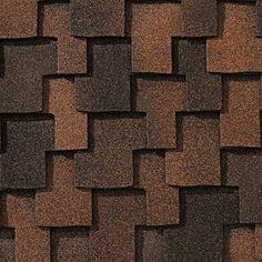 Sedona Sunset #gaf #designer #roof #shingles #swatch