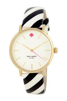 kate spade striped watch