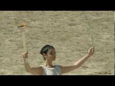 Olympic flame lit ahead of Sochi Winter Games 2014 Greece