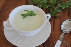 Cocina compartida : SOPA FRÍA DE MELÓN CON TOQUE DE HIERBABUENA (Tradicional y Thermomix)