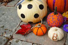 pumpkin decorating tutorial