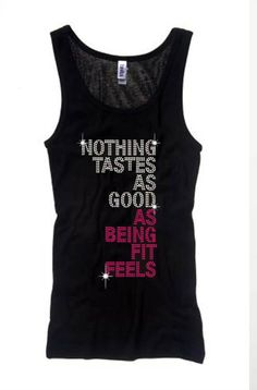 Bling Fitness Tank, $37 Machine Washable - High End Tank - Hand Made in USA