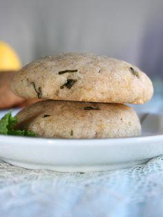 The Daily Dietribe: Gluten-Free Lemon Mint Cookies (Vegan)