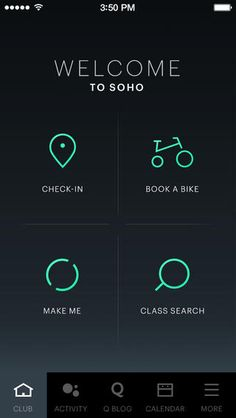 home on Equinox app ios iphone
