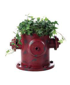 Fire Hydrant Planter