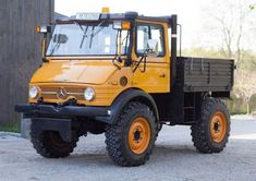 This 1980 Unimog 406 U900 is said to have been used sparingly outside of its original career as a snow plow at the 1980 Lake Placid Winter O...
