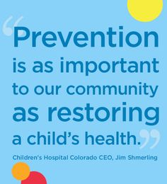 Inspiration of our day. Check out a list of helpful prevention resources for our families.