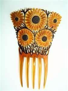 Auguste Bonaz sunflower comb