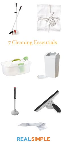 7 Essential Cleaning Products