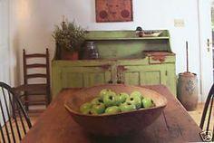 Love the green dry sink..Lori's