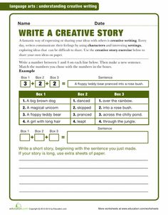 creative writing lessons