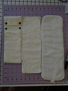 January DIY Challenge #2 : Make your own diaper inserts