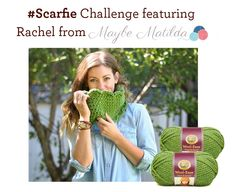 #Scarfie = A selfie with a scarf! Check out what Maybe Matilda did with our scarf challenge.