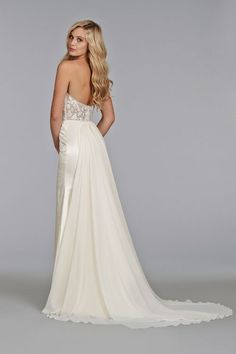 Bridal Gowns, Wedding Dresses by Tara Keely - Style tk2402