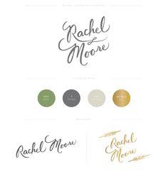 Rachel Moore branding  by lauren ledbetter