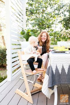 Make your deck a great space for the whole family. Click through to see more of Lesley Graham's  family-friendly deck makeover.