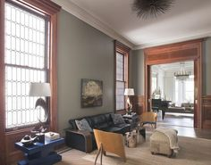 Middle Parlor - eclectic - family room - new york - Neuhaus Design Architecture, P.C.