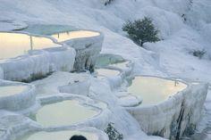 Pemukkale hot springs, Turkey