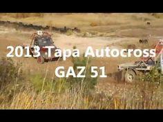 RUSSIAN MONSTER TRUCKS GAZ 51 @ THEIR BEST 2013 Autocross Tapa, Estonia