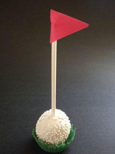 cupcake liners, golf cake pops, balls, golf ball cake pops, golf cakes, golf birthday ideas, cakepop, dessert, parti