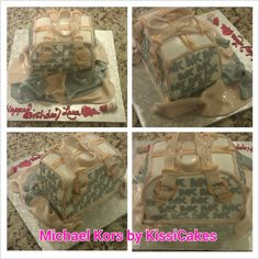 Michael Kors purse cake.