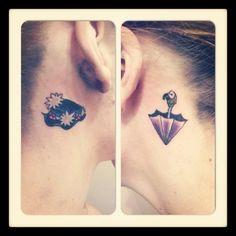 Mary Poppins | 24 Stunningly Subtle Disney Tattoos