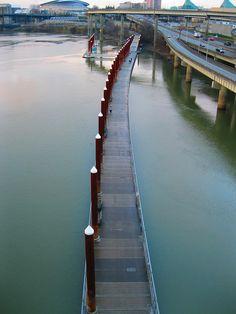 The Floating Esplanade, Portland Oregon