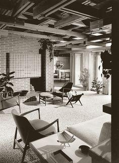 1961 Dow Test House aka Alden's Daughter's House - Barbara Dow Carras | Architect: Alden Dow | Midland, Michigan