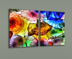 acrylic print with metallic paper