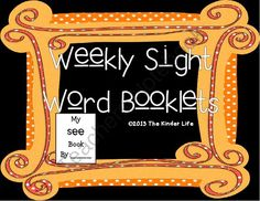 Let's learn those sight words!! Enter for your chance to win 1 of 2.  55 Weekly Sight Words Booklets: Whole Group, Small Group, Intervention, Homework (172 pages) from TheKinderLife on TeachersNotebook.com (Ends on on 9-24-2014)  This pack contains 55 sight word booklets! Perfect for whole group, small group, centers, or intervention. Plus... All my products are currently 50% off in my store! Good luck!