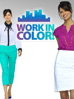 Work in Color #fittingroomspring