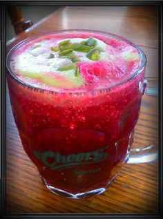 Simply Raw and Organic: Chia Beet Juice
