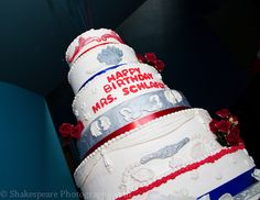 Phyllis Schlafly's birthday cake made by Di's Delights.