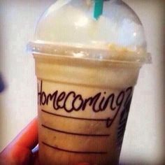 The perfect way to propose to me... with Starbucks! IF SOMEONE DID THIS, I WOULD LEGITIMATELY AND COMPLETELY DIE IN A HEAP ON THE GROUND. OMG.