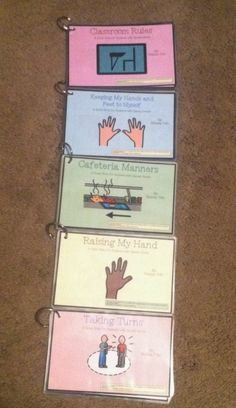 Social Stories for Classroom Management - Books created by Melissa Toth