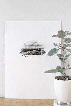 Drawings with Vintage Photos by Lauren Spencer King (Spencer Studios).