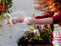 Backyard Bubbles {DIY}