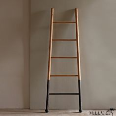 White Oak Ladder -- I'll use this as a towel rack.