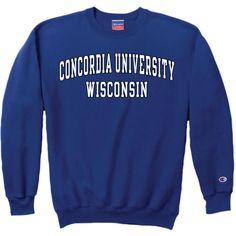Product: Concordia University Wisconsin Crewneck Sweatshirt $29.95