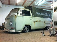 VW bay window single cab