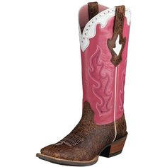 Pink Western Boots