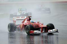 Fernando Alonso wins 2012 Malaysian GP