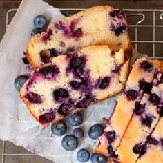 Lemon Blueberry Bread - Recipes, Dinner Ideas, Healthy Recipes & Food Guide
