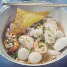100 baht well spent #seafood #soi38 #BKK #ThongLor - @ruben_i- #webstagram