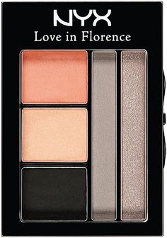 New Nyx Love in Florence Eyeshadow Palette Collection - most beautiful peachy coral shade! Stunning.